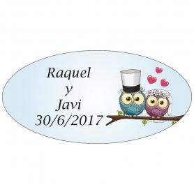 Etiquettes Originale pour Mariage