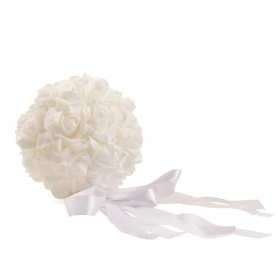 Bouquet Blanc  Broches bijoux fantaisie details invites Pins