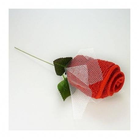 Serviette en Forme de Fleur  Cadeau
