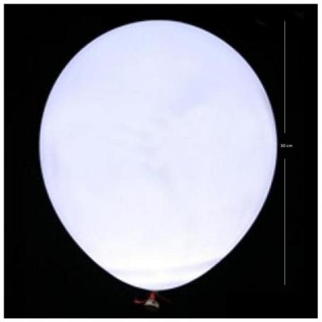 Ballons Blancs LED  Ballons