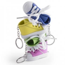 Basket Porte Clé Couleur: jaune, bleu, fuchsia, rouge, vert