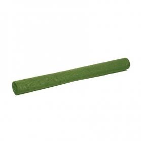 Papier crêpon vert ponme