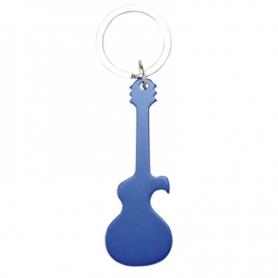 Porte-clés Guitare Couleur: bleu, noir, argent, rouge Porte