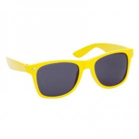Lunettes de Soleil de Couleur Couleur: jaune, bleu, blanc
