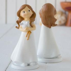 Figurine pour Pièce Montée de Communion de Fille