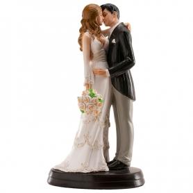 Figurine de Mariage Élégante  Figurine Gateau Mariage Cadeaux