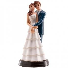 Figurine de Mariage Tenir par la Taille