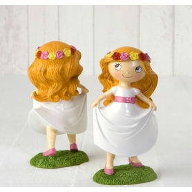 Figurine Fille Communion