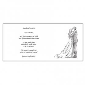 Faire-part de Mariage Amour