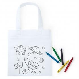 Petit Sac Rigolo à Colorier  Cadeaux Originaux Enfants Idées