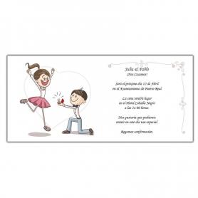 Faire-part de Mariage Fun  Invitations de Mariage Pas Cher