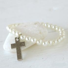 Bracelet de Perles pour Communion