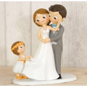 Figurine Pièce Montée de Mariage