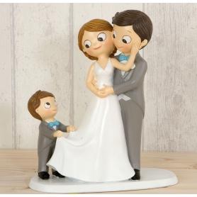 Figurine de Mariage Personnalisée  Figurine Gateau Mariage