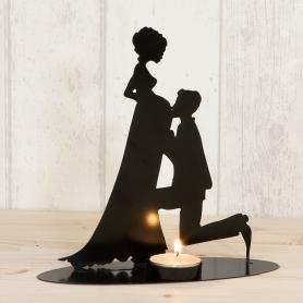 Figurine de Gâteau de Mariage Enceinte