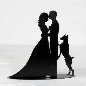 Rencontre de gâteau de mariage