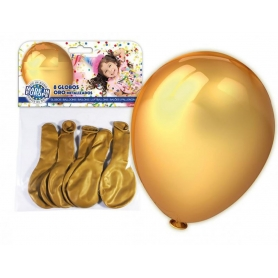 Ballons pour la Décoration Couleur: doré, argent Ballons