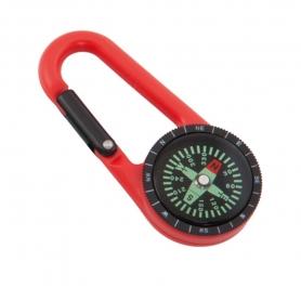 Porte-clés Boussole Couleur: bleu, rouge, jaune, vert Porte