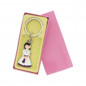 Porte Cle Fille Communion