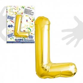 Ballons Lettres Dorées