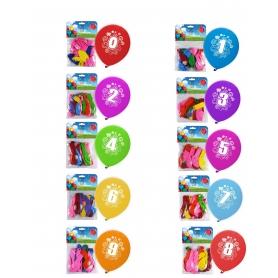 Pack Ballons Impression Numéros