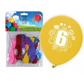 Pack Ballons Impression Numéros 0.61 €
