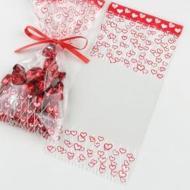 Sachets Bonbons avec des Coeurs  Sacs sachets pochettes cadeaux