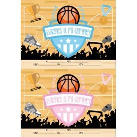 Invitation d'Anniversaire Basket-ball