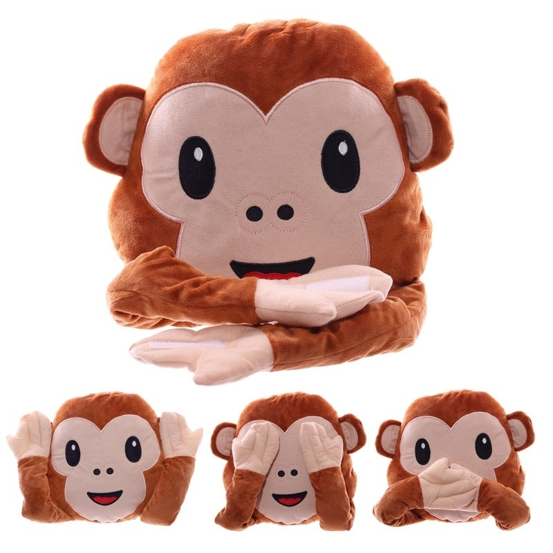 Coussin Singe WhatsApp  Cousin