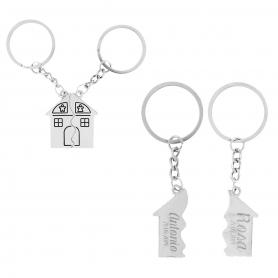 Porte-clés Personnalisé Maison  Porte Cadeaux 8,73€