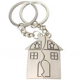 Porte-clés Personnalisé Maison
