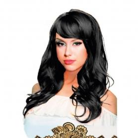 Perruque Déguisement Cheveux Longs de Couleur Abecedario: a, j