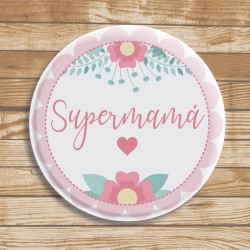 Badge Super Mama