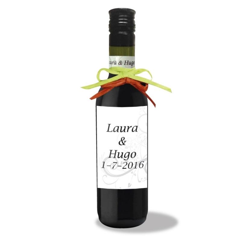 Bouteille de Vin Personnalisee Mariage  Mignonette cadeau