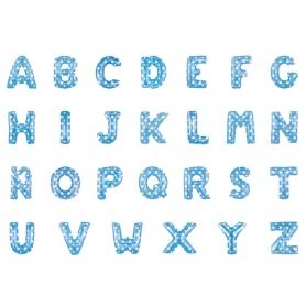 Ballons Bleus Lettres