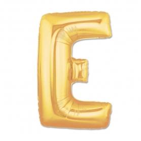Ballons Gonflables en Forme de Lettres Dorées Abecedario: b, a