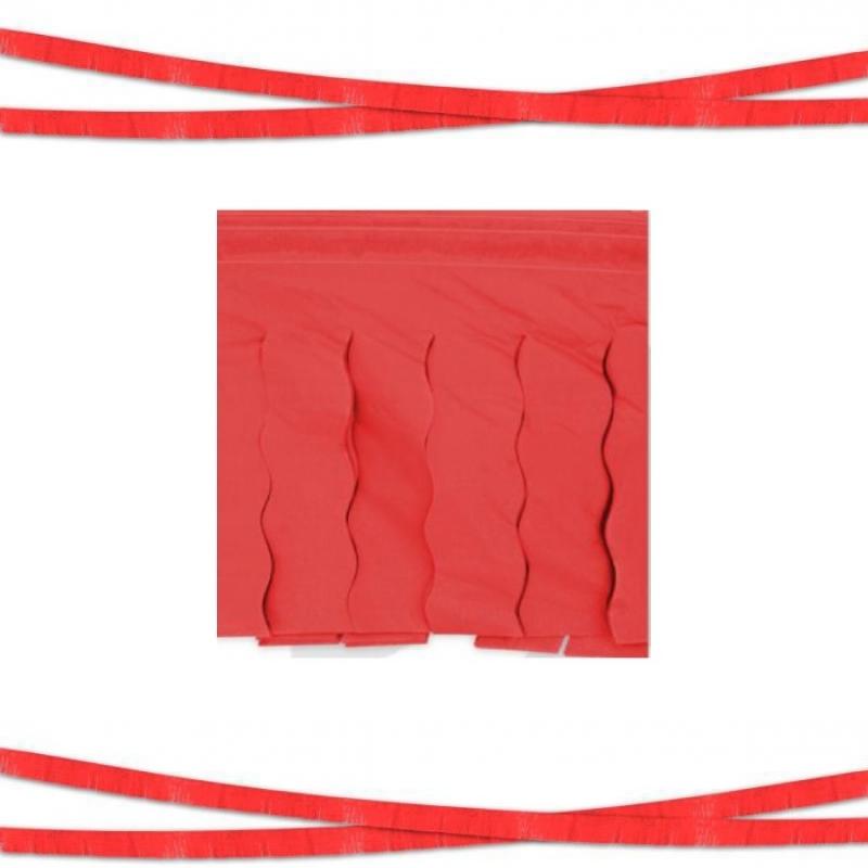 Guirlande à Franges Plastique Couleur: blanc, bleu, rouge