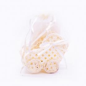 Petits Paniers-cadeaux Couleur: bleu, rouge, rose, blanc, beige