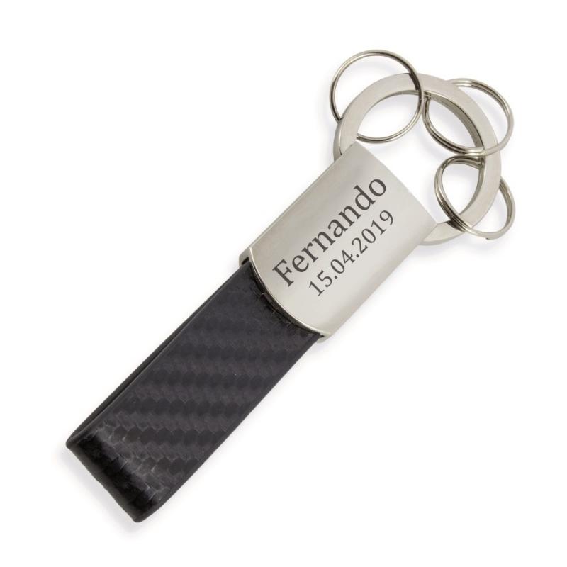 Porte-clés Personnalisé Élégant  Porte