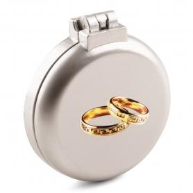 Miroir avec Brosse pour Mariage  Miroir de Poche Mariage