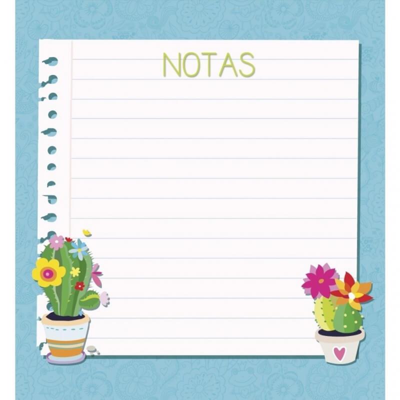 Bloc-notes Cactus