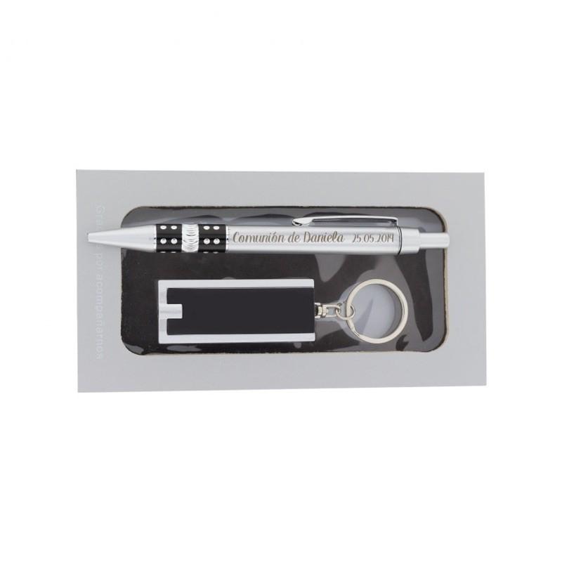 Set avec Gravure pour Cadeau Communion  Gravure Laser