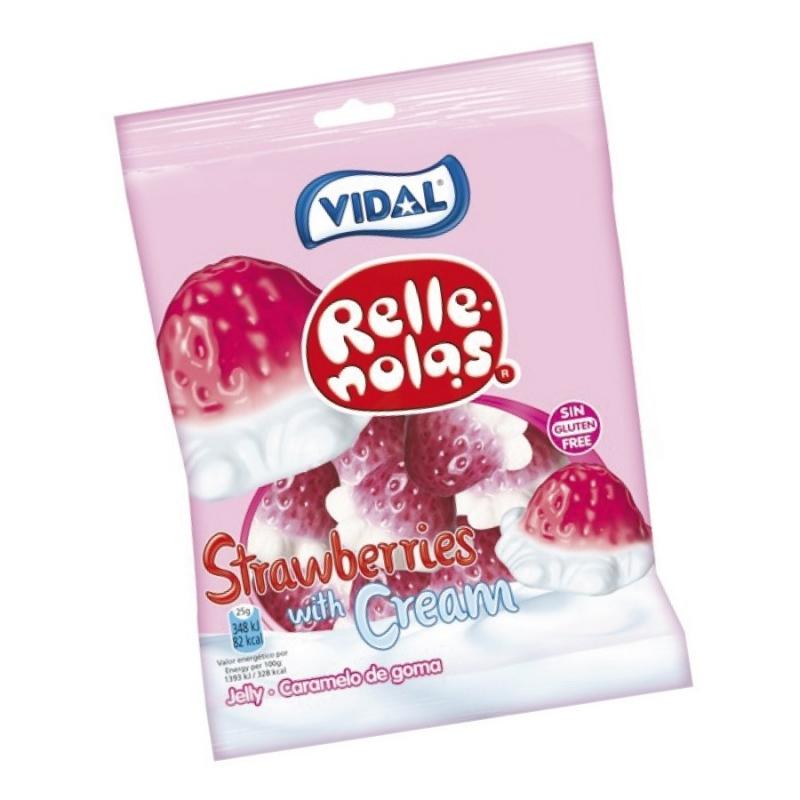 Bonbons Fraises à la Crème  Dragées Chocolats et Bonbons
