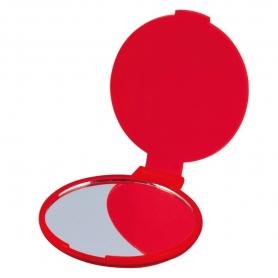 Miroir de Poche Rouge  Miroir Cadeaux 0,37€