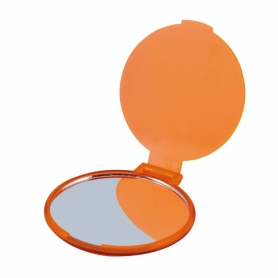 Miroir Orange Rond