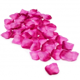 Petale de rose mariage pas cher fushia