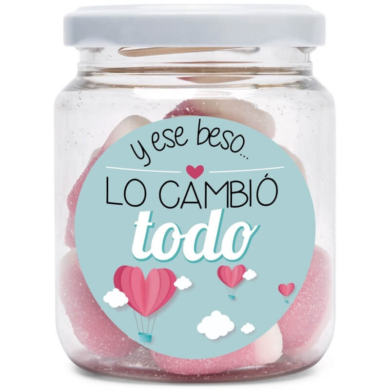 Pot de Bonbons Amour