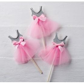 Pic Ballerina Gris-rose