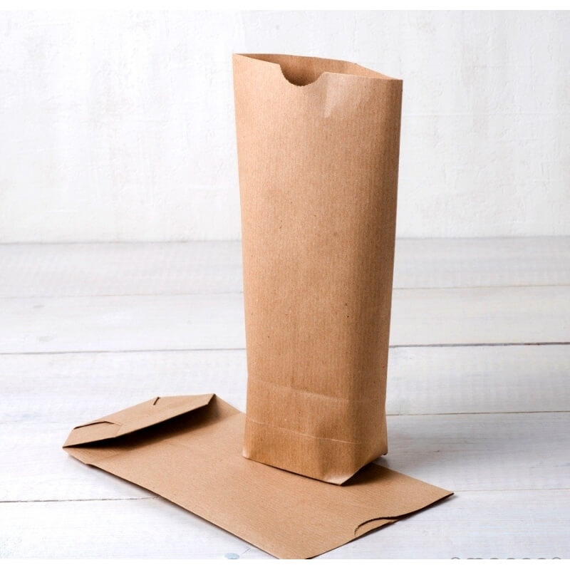 Paquet de 50 sacs en papier kraft
