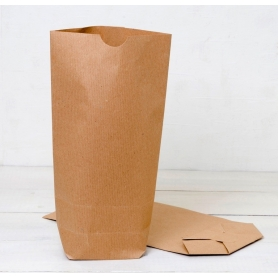 Pack 50 sacs en papier kraft avec base